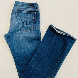 Citizens of Humanity Low Waist Bootcut Jeans sz 31